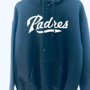 Padres medium navy blue hoody